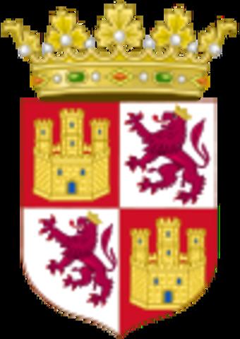 Es forma la Corona de Castella.