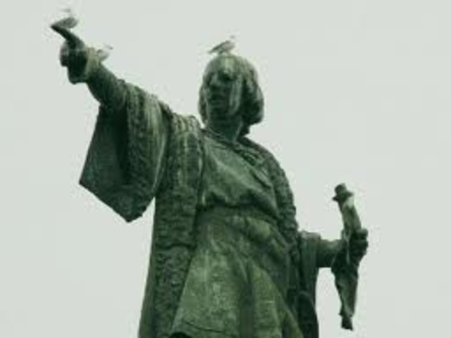 Cristòfor Colom arriba a Amèrica