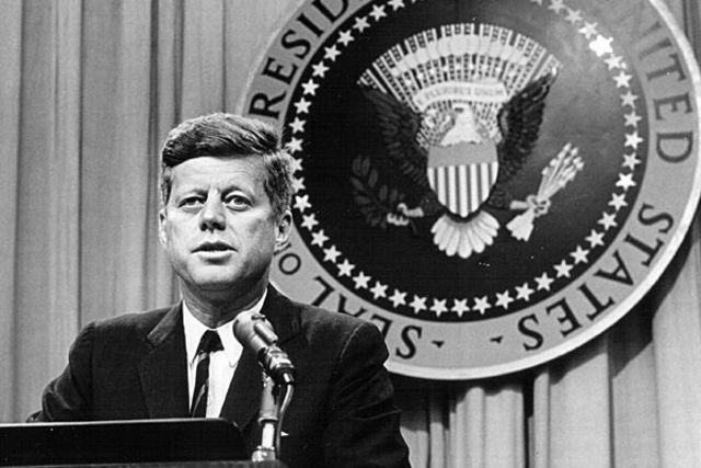 John F. Kennedy was elected president