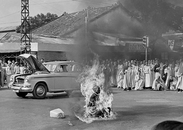 Thich Quang Duc Immolation
