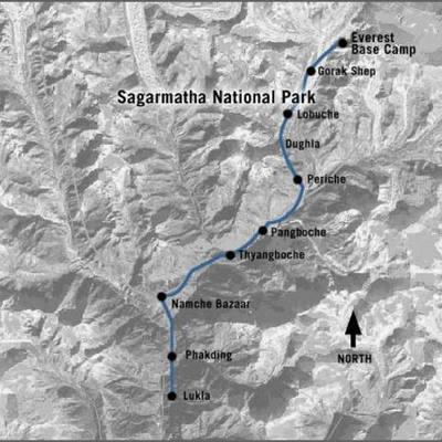 John Krakauer's climb on mount everest  timeline