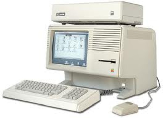 Apple Lisa invented