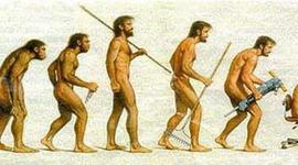 LINEA DEL TIEMPO EVOLUCION DEL HOMBRE timeline