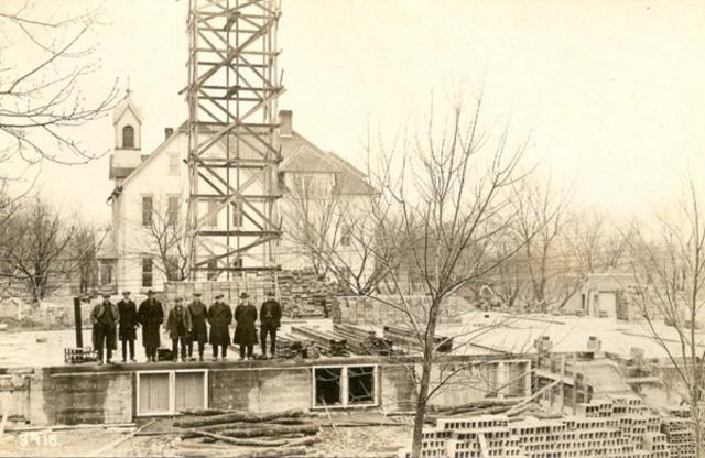 New Church Construction Begins