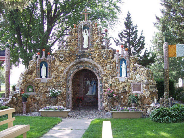 Construction begins on Grotto of the Holy Family in Milwaukee, WI