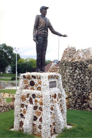 Father Dobberstein statue erected