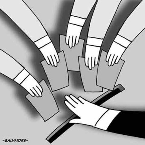 Sin democracia