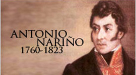 Antonio Nariño timeline