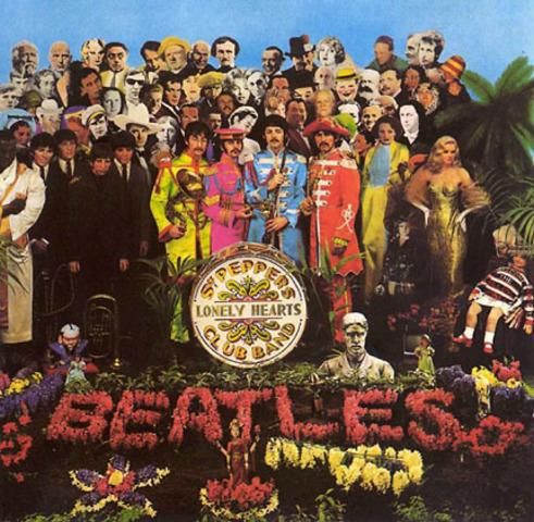 """Dans le 1967, The Beatles detendu le album """" Sgt. Pepper's Lonely Heart Band"""""""