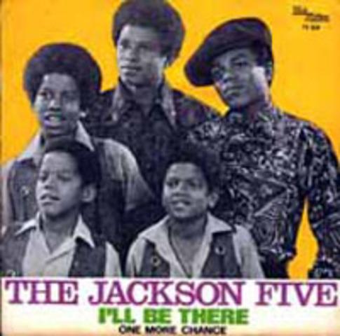 """Jackson 5 as secoue les graphiques avec leurs chanson, """"I'll Be There."""" C'est ete le premier heur pour gagner le #1 en le """"Top 100 Billboard"""", le deuxieme heau est ete em 1995"""