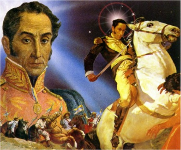 Bolivar en las Antillas