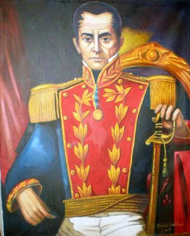 Bolivar presidente de Venezuela