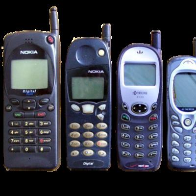 cellphones timeline