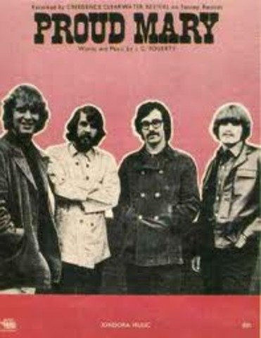 Proud Mary par Creedence Clearwater Revival est sorti en 1969.