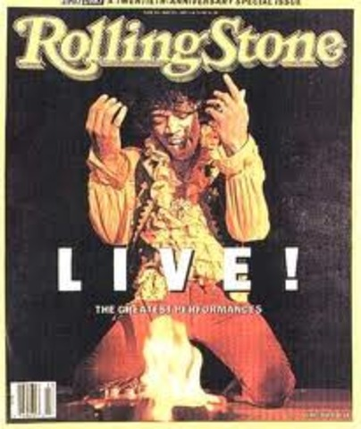 Rolling Stone Magazine Debuts