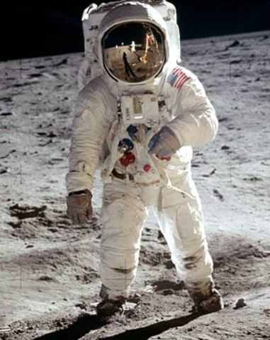 Neil Armstrong is the first man to step on the moon