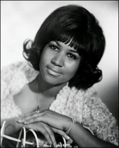"Aretha Franklin records ""Respect"""