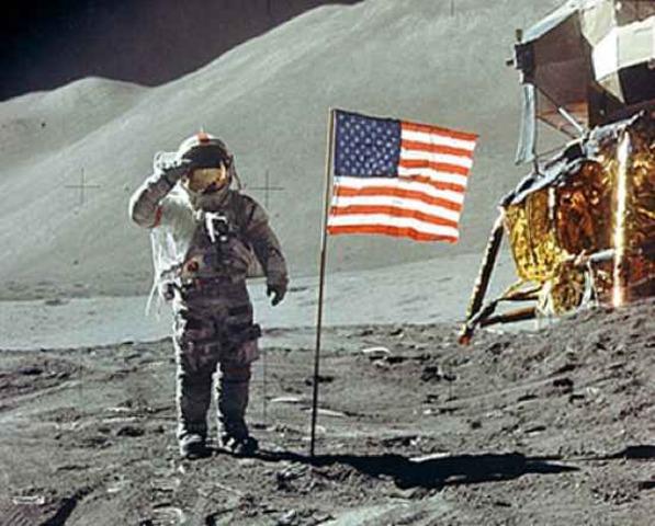 Apollo 11 Lands on Moon