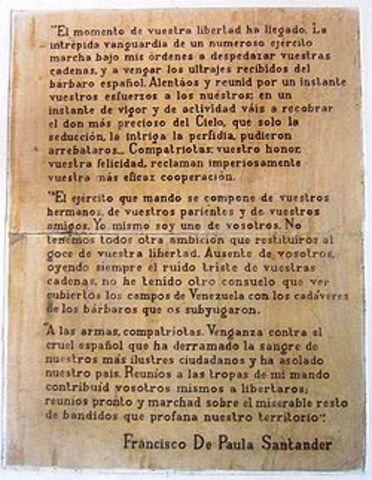 Crisis con Bolívar