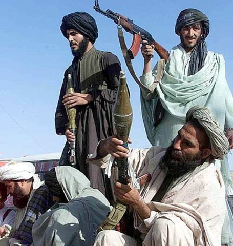 The taliban government crumbles in Afghanistan