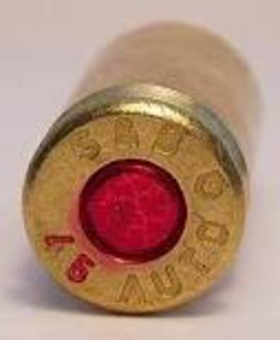 First Centerfire Cartridge