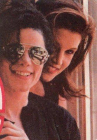 Jackson married singer Lisa Marie Presley,