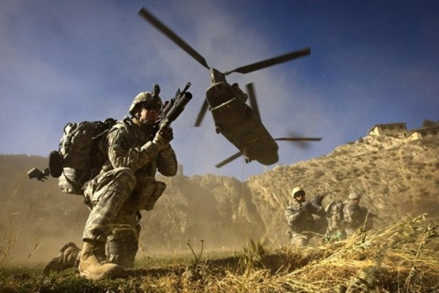War is declared in Afghanistan