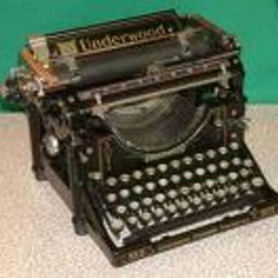 The Typewriter. timeline