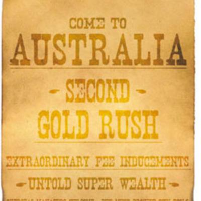 Australian Goldrush by Edward 5M timeline