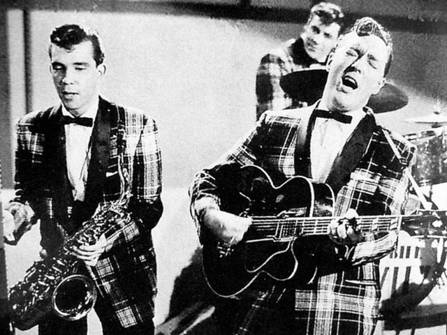 Bill Haley and the Comets release Rock Around the Clock