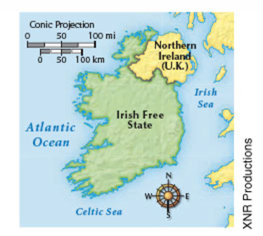 Ireland becomes free state