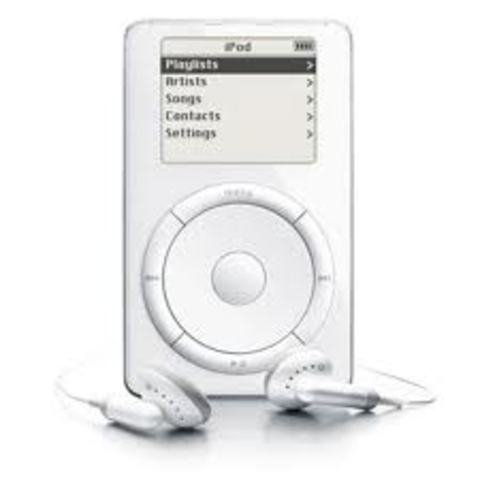 The first ipod is released.