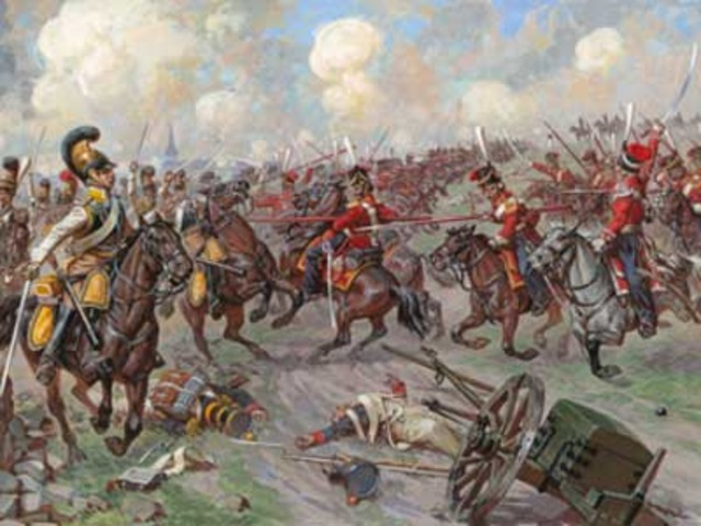 Napolson's Defeat at the Battle of Leipzig