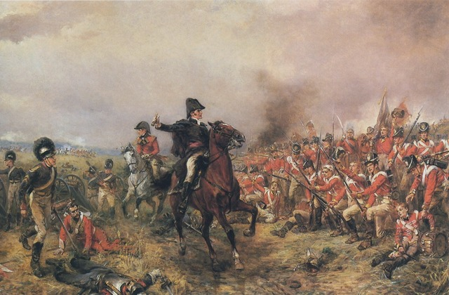 """Battle of Wateloo (End of Napoleon's Hundred Days"""""""