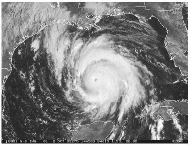 Hurricane hits Australia