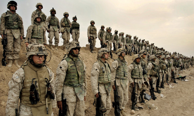 U.S. enters Iraq war