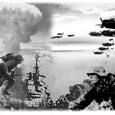 I y II Guerra Mundial timeline