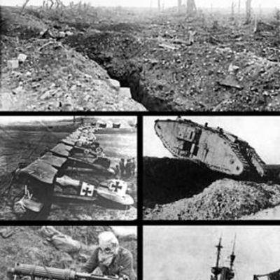 1º y 2º Guerra Mundial timeline