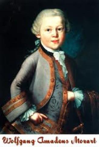 Nacimiento de Mozart