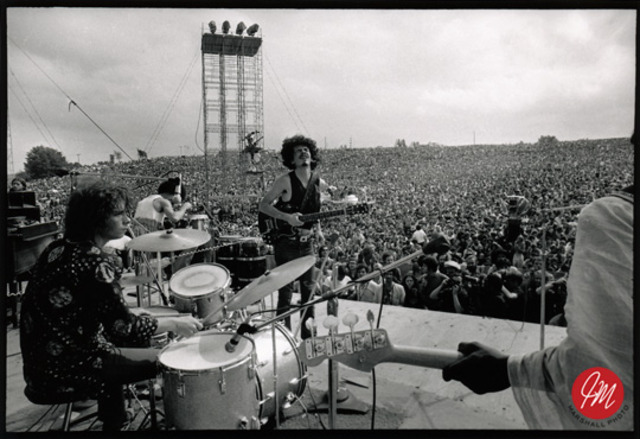 second day of Woodstock concert