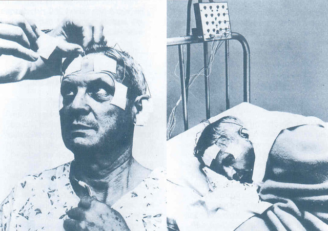1957- Daniel Dement and Nathaniel Kleitman find the first objective measurement of the brain activity underlying dreaming 'The relation of eye movements during sleep to dream activity' [Core study 7]