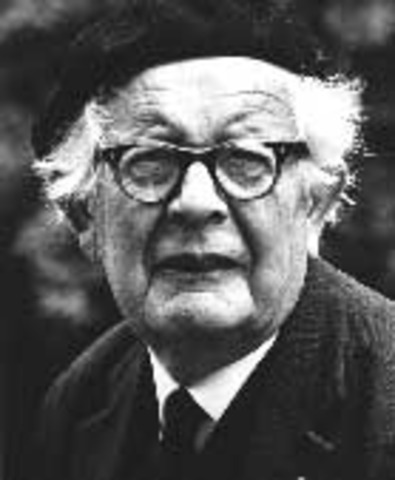 1932 - Jean Piaget becomes the foremost cognitive theorist with the publication of his work The Moral Judgment of Children.