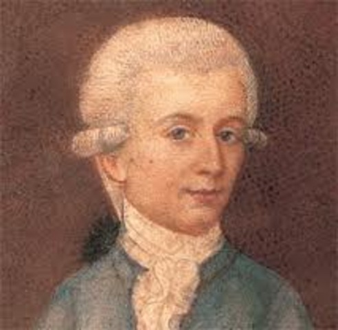Wolfgang Amadeus Mozart tuvó su ruptura con el Arzobispo