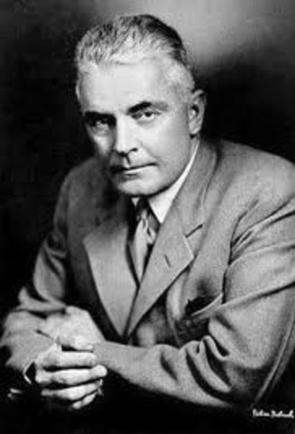 1913- John B. Watson publishes 'Psychology as the Behaviorist Views It'. The work helped establish behaviourism, which viewed human behaviour arising from conditioned responses.