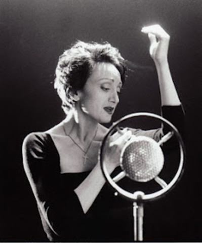 14 year old Edith Piaf Performs