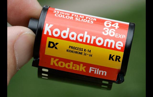 Kodachrome flim was released.