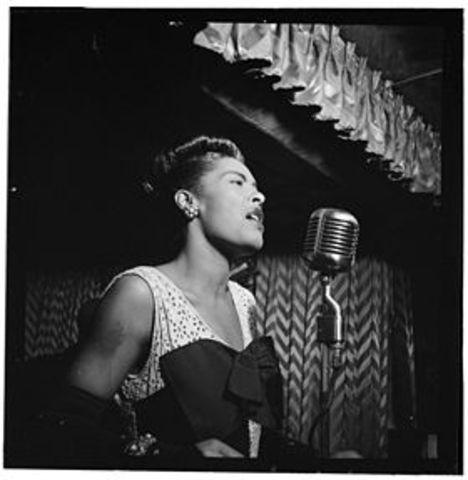 Billie Holiday born