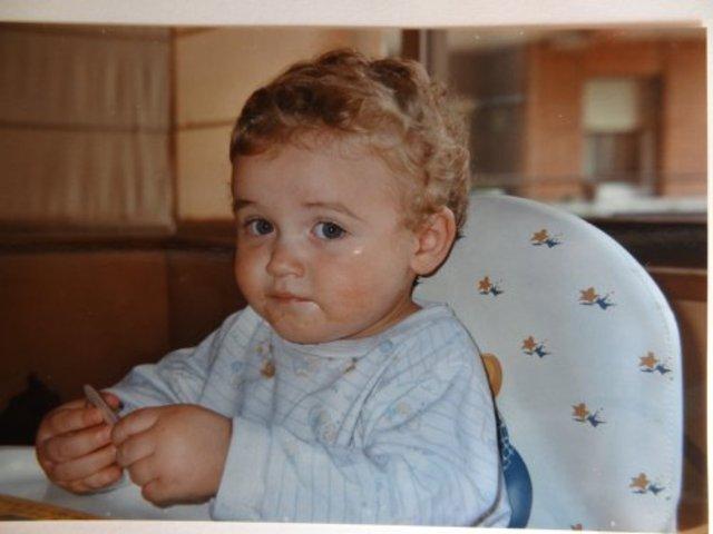 Quant tenia 2 anys.