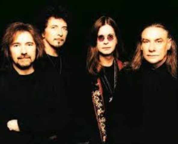 Ozzy and his band Black Sabbath released first album