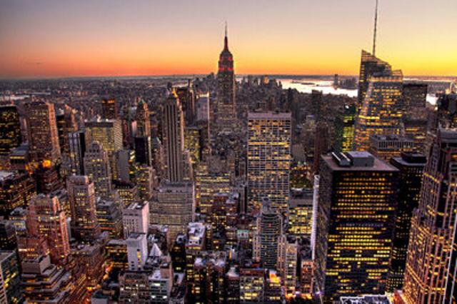 One Direction in Manhattan